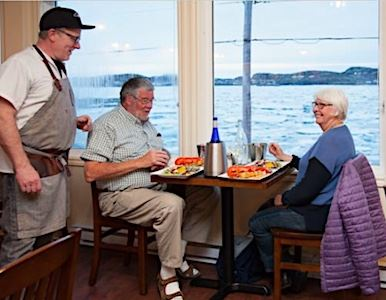 Georgie's Restaurant at the Anchor Inn Hotel Twillingate